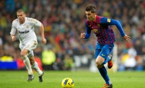Real Madrid Vs Barcelona 2011-2012, David Villa, Pepe