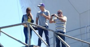 Cristiano Ronaldo Pictured With His Family & Girlfriend On Holiday