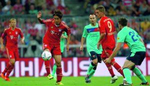 Audi Cup 2011/2. Platz: FC Bayern Muenchen