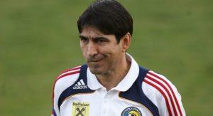 Antrenorul echipei nationale de fotbal a Romaniei, Victor Piturca, participa la antrenamentul dinaintea meciului cu selectionata Lituaniei, pe stadionul de la Centrul National de Fotbal Mogosoaia