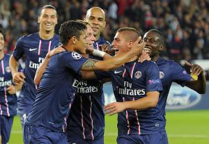 Paris Saint Germain-Dinamo Kiev Champions League