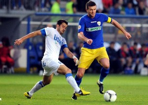 1.FOTBAL:FC PETROLUL PLOIESTI-PANDURII TARGU JIU 1-0,LIGA 1 (16.09.2012)