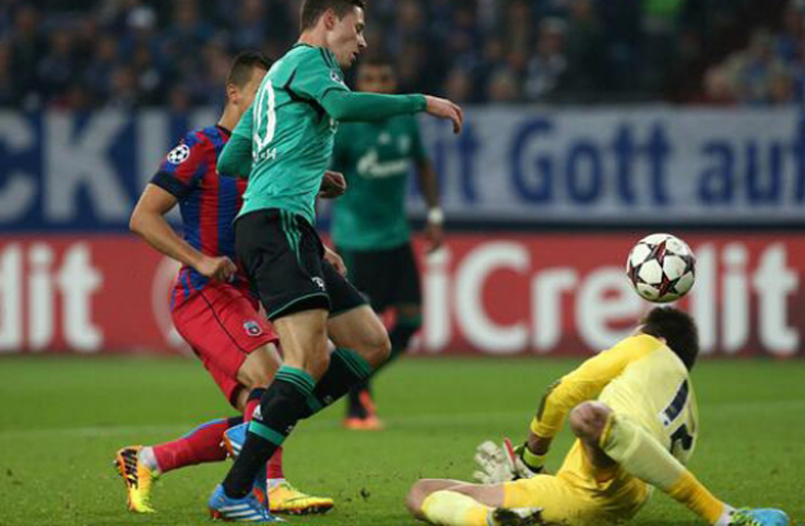 Steaua a pierdut cu 0-3 (0-0) in fata formatiei germane Schalke04
