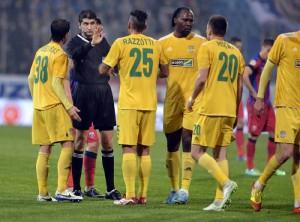 Ros-albastrii, la prima infrangere! Steaua - FC Vaslui 1-0! VIDEO