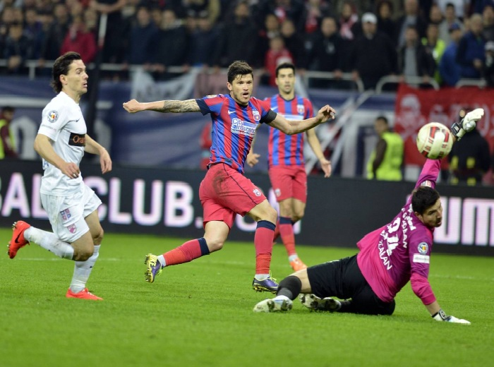 Ros-albastrii s-au calificat in finala Cupei Romaniei! DINAMO – STEAUA 1-1!