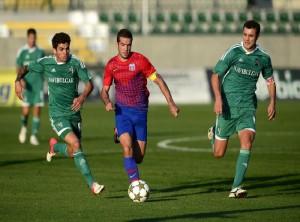 Cu un gol in grupele LIGII CAMPIONILOR Steaua - Ludogoret 1-0!