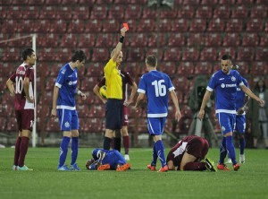 Feroviarii au fost eliminati din cupele europene! CFR - Dinamo Minsk 0-2!