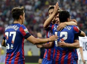 Ros-albastrii preiau sefia in Liga 1! Steaua - CS Universitatea Craiova 3-1!