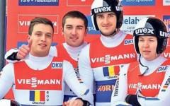 Echipa de sanie a Romaniei a castigat medalia de bronz in etapa a V-a a Cupei Mondiale!