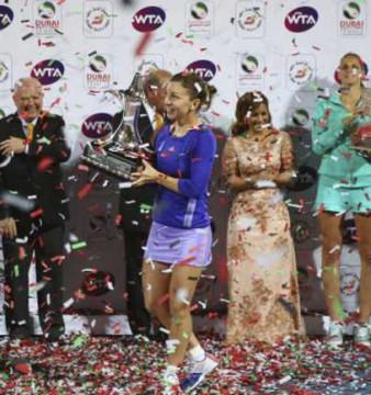 Simona Halep a castigat turneul de la Dubai impotriva Karolinei Pliskova!