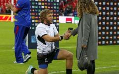 VIDEO   Moment SPECIAL la finalul partidei Romania – Irlanda: s-a pus in GENUNCHI pe Wembley