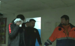Ciocnire VIOLENTA: Papp a fost dus de URGENTA dupa doar 4 minute, jucate in meciul de la Baia Mare