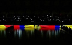 VIDEO | Moment EMOTIONANT la Steaua-Dinamo: luminile s-au STINS