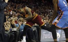 FOTO | Imagini SOCANTE in NBA. LeBron a bagat in SPITAL o spectatoare