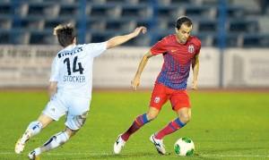 FOTBAL - AMICAL - STEAUA - FC BASEL
