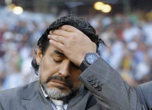 Maradona Ready to Train UAE