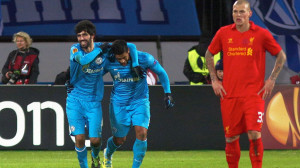 FC Zenit St Petersburg v Liverpool FC - UEFA Europa League Round of 32