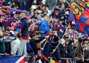 Suporteri-Steaua mustata