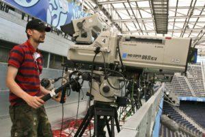 camera tv stadion