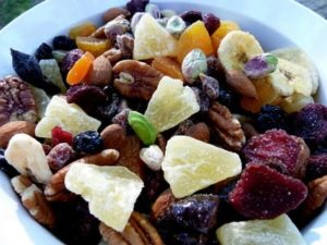 Eat a Rainbow Dried Fruit and Nut Mix-8
