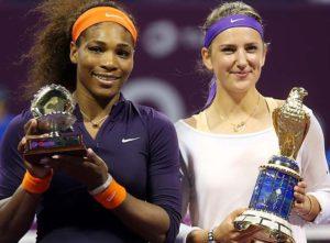 Victoria Azarenka, Serena Williams