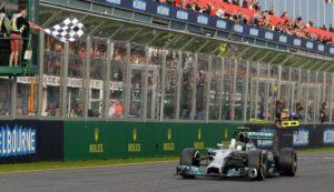 FORMULA 1 Nico Rosberg Mercedes a castigat Marele Premiu al Australiei!
