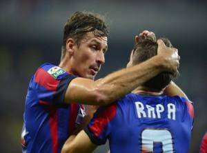 Calificare cu emotii! Steaua - Strømsgodset 2-0! VIDEO